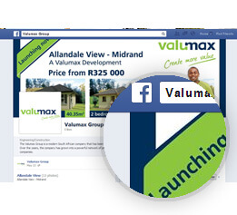 Property websites social media branding